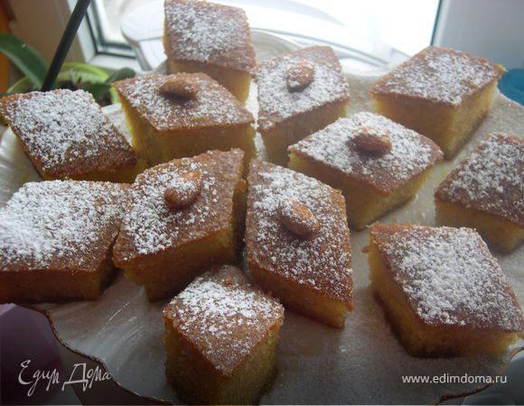 Апельсиновый Ревани (турецкая сладость)