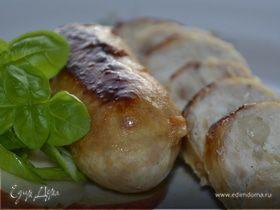 Натуральные куриные колбаски с яблоком