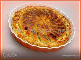 Тарт с домашним марципаном из миндаля и грецких орехов