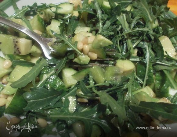 Зелененький салат
