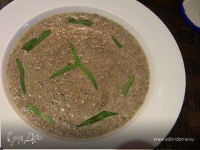 Крем-суп из шампиньонов с эстрагоном