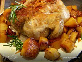 Апельсиновая курица (утка)