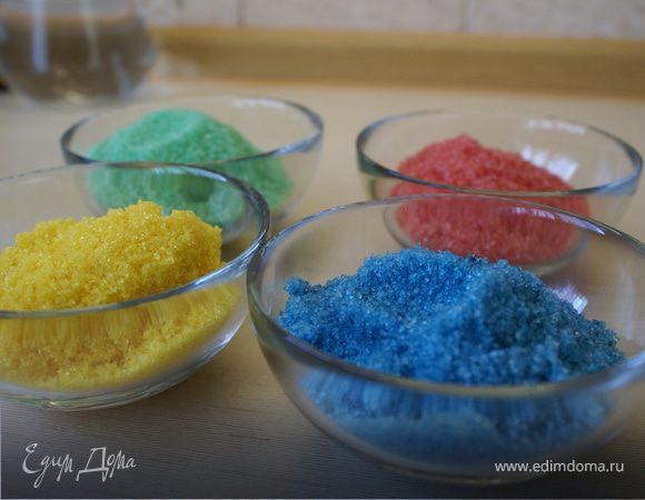 Цветной сахар/Color sugar