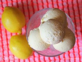 Цитрусовое мороженое c лимоном и лаймом