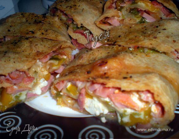 Рулетная пицца