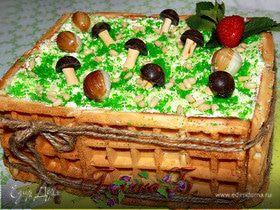 """Тортик """"Лесное лукошко"""""""