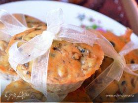Маффины с грибами и сыром Чеддер