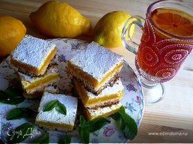 Лимонные квадратики (Lemon Bars)