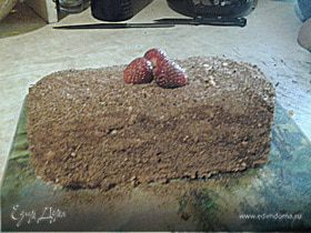 """Бисквитный торт """"Сказка"""" по ГОСТу"""