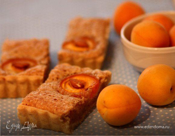 Абрикосовый тарт с миндальным кремом (франжипаном)