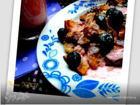 Летний завтрак с клубничным кефиром (Кайзершмаррн)