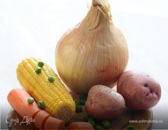 Сладкое овощное пюре