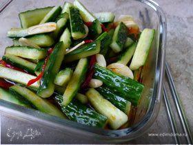Кимчи из огурцов в китайском стиле