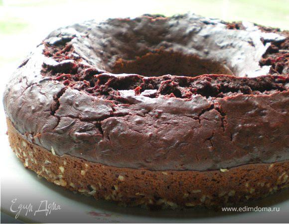 Свекольно-шоколадный торт