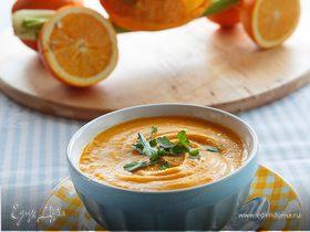 Тыквенный суп с апельсином