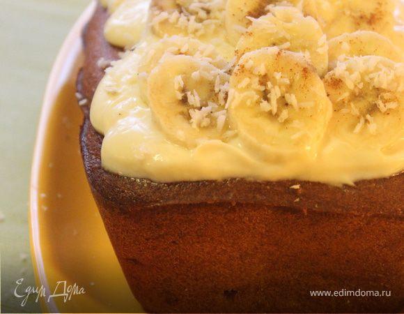 Луизианский банановый торт-кекс
