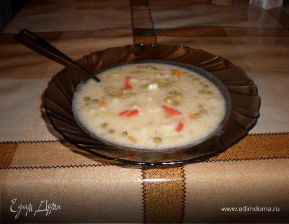 Суп овощной пикантный