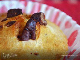 Маффины с карамелизированными орешками пекан