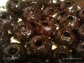 Кексики в шоколадной глазури