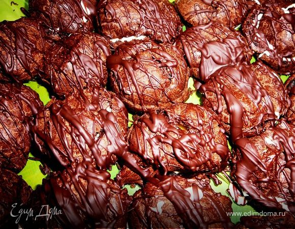 Шоколадные профитроли