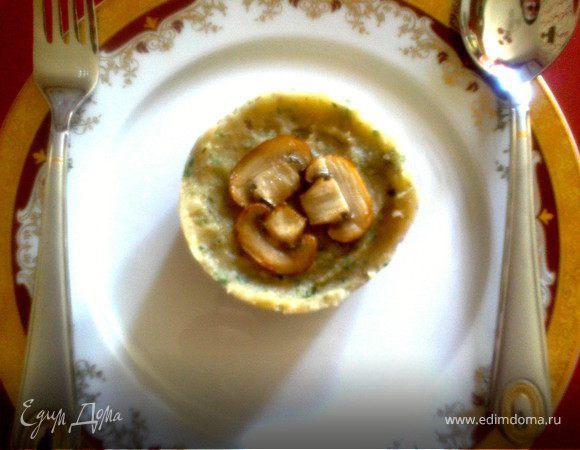 зеленое картофельное пюре