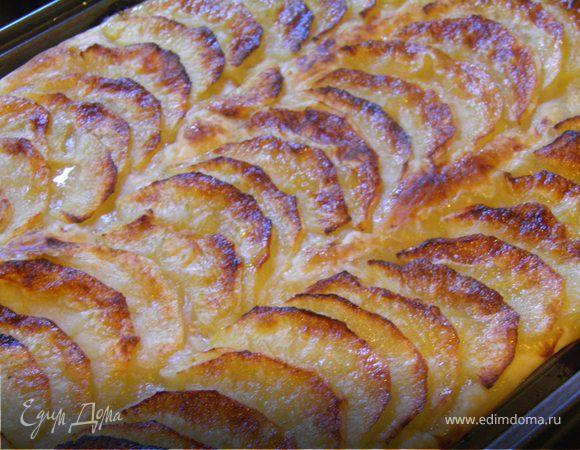 """Яблочный пирог """"Французские мотивы"""""""