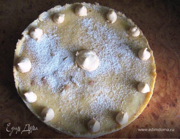 Нормандский яблочный пирог - благодарность друзьям (Normandy apple cake, France)