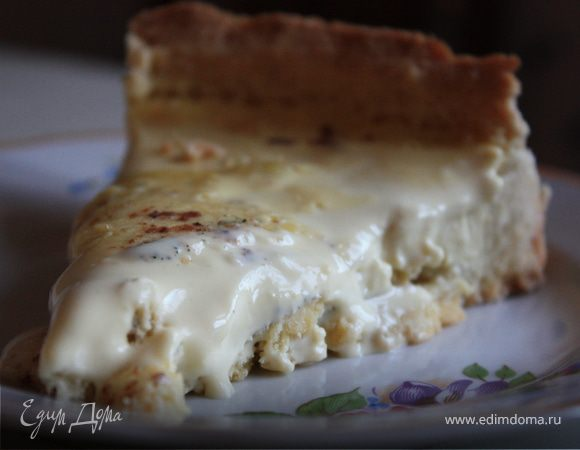 Тарт с заварным кремом и мускатным орехом