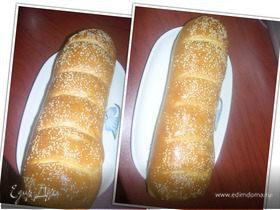 Вкусный и пушистый домашний хлебушек