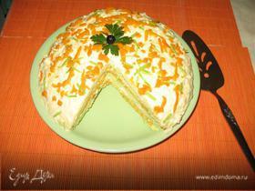 Кабачковый торт (закусочный)