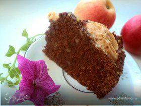 Пирог «Яблоки в шоколаде»