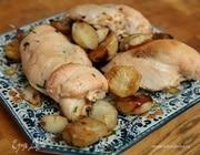 Куриные грудки с миндалем и топинамбуром