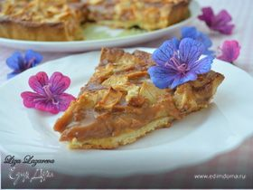 "Яблочный тарт ""Ириска"" от Д. Оливера (Toffee apple tart)"