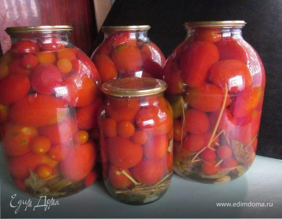 помидоры маринованные