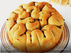 Чесночный хлеб-гармошка