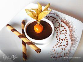 Шоколадно-кокосовый мусс