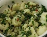 Картофельный салат с восточными пряностями