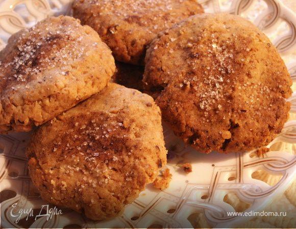 """Ароматное печенье с грецкими орехами и корицей (готовим вместе с """"HomeQueen Corporation"""")"""