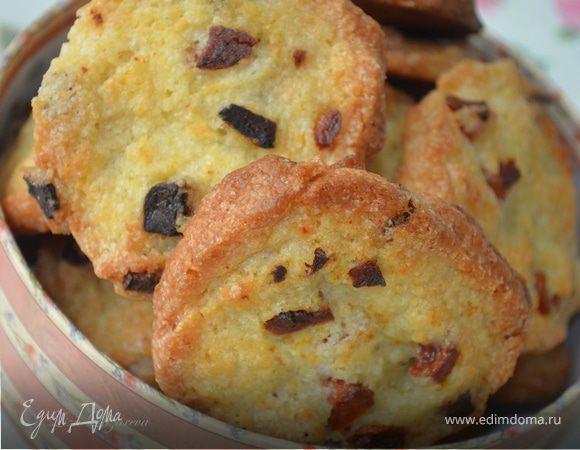 Хрустящее печенье с курагой (Готовим с HQC)