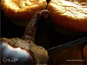 """""""Пирог в тарелке"""" c курицей и овощами (Pot pie)"""