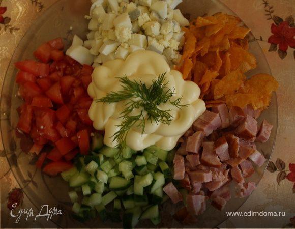 """Салат """"Пять ингредиентов"""""""