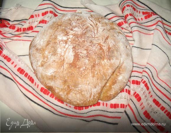 Хлеб на сыворотке (без дрожжей)