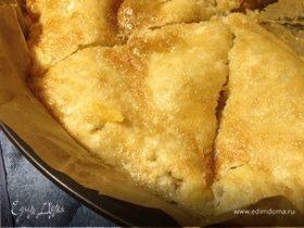 Идеальный яблочный пирог от Джейми - минимум теста и максимум начинки