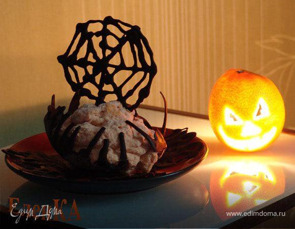 Мусс из тыквы для Halloween