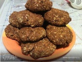 Овсяное печенье с грушей