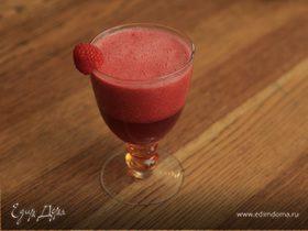Сок из арбуза, граната и замороженной малины