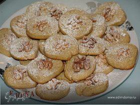 Тахинно-медовое печенье