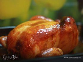 Курица в меду