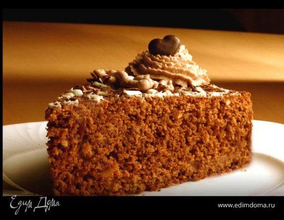 Шоколадный торт с оливковым маслом