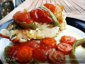 Сочная курочка с овощными цукатами
